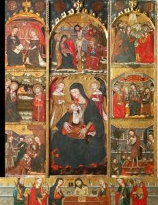 Imagen para el post del Retablo de la Virgen de la Leche del Maestro de Cubells