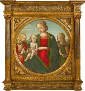 Tondo del primer Renacimiento italiano
