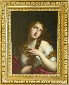 Magdalena Penitente de la esuela de Guido Reni